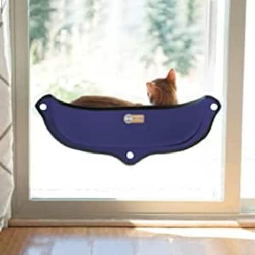 窓用|吸盤で固定、景色を見るのが好きな猫ちゃんに