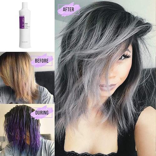 紫 シャンプー