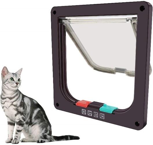 機能|ロック付きなら野良猫侵入防止にも役立つ
