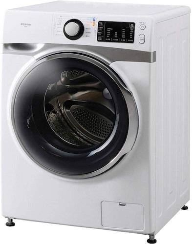 乾燥機能付きで使用水量の少ない『ドラム式』