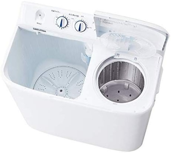 洗濯槽と脱水槽が別になっている『二槽式』