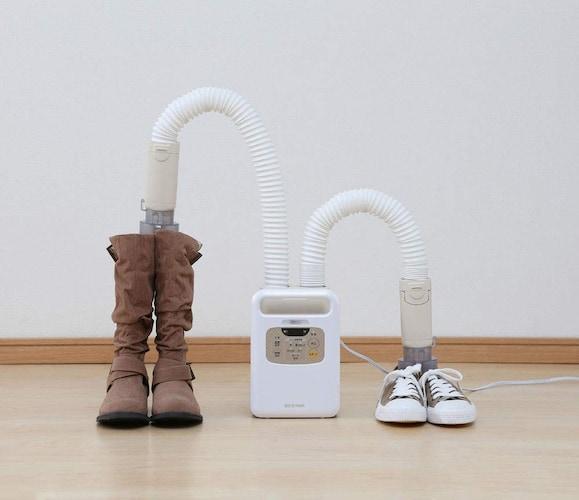 4、濡れた靴を乾かせる