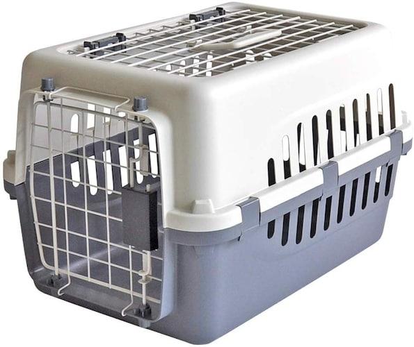 ▼クレートタイプは猫が落ち着く快適な構造で車移動や簡易ハウスにも◎