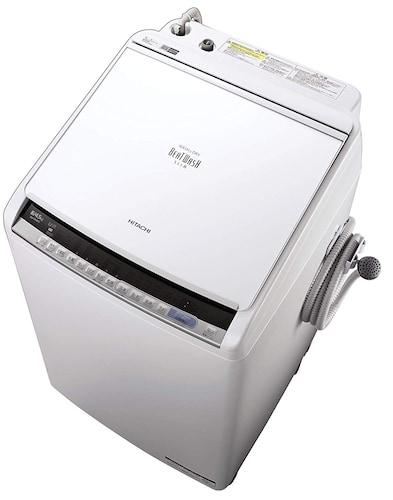 日立|節水に優れた独自の洗浄機能!AI搭載の洗濯機も