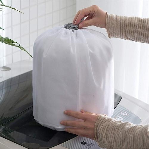 乾燥機にかける時もネットに入れるべき?