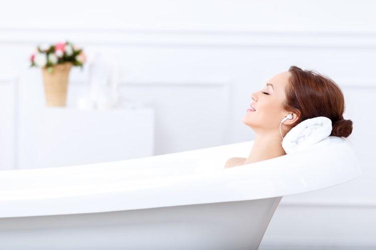 ▼お風呂場:スタンドになるタイプが便利