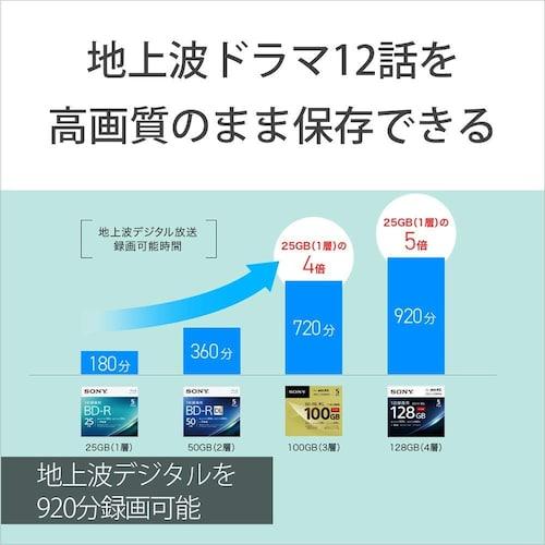 容量 番組のダビングは25GB、一眼レフのデータには100GBが最適