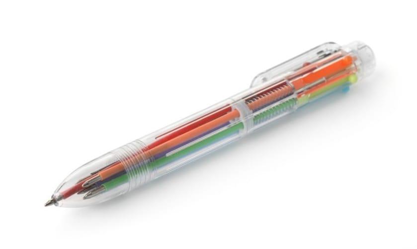 ・多色ボールペンは学生のノート取りにも便利