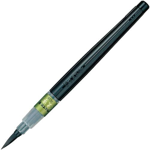 ・毛筆タイプは線の強弱やハネ、ハライなどの表現ができる