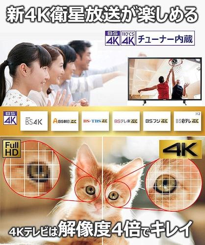 4Kテレビとは?