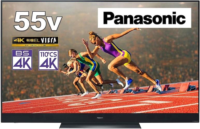 高画質で高音質な4K有機ELテレビ