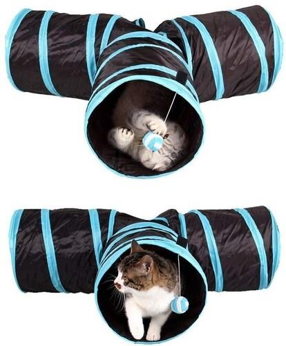 トンネル 他のおもちゃとの併用も可能、リラックスの場にも