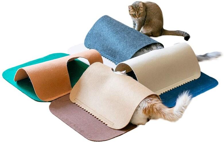 素材 羊毛フェルトなど生地にこだわったおもちゃが◎