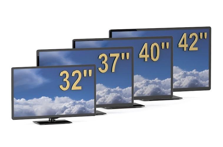 画面サイズ|最適な視聴距離と部屋の広さで選ぶ