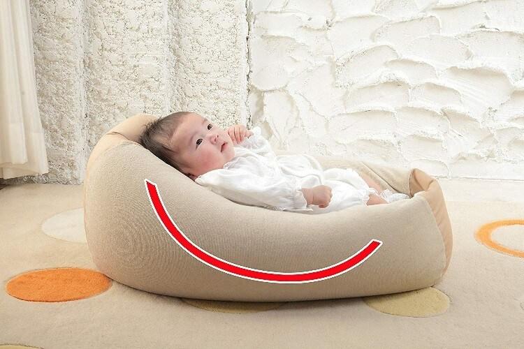 ・その他、Cカーブ型は赤ちゃんがそのままお昼寝できて人気