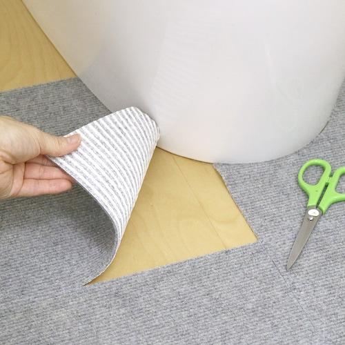 タイプ|手軽に汚れた部分だけを取り外せるタイル式がおすすめ