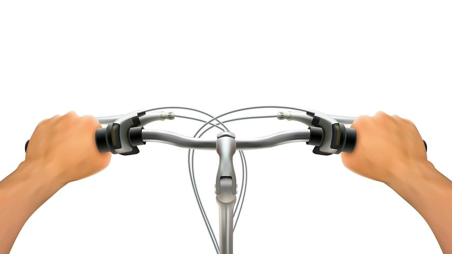 ハンドルの径|ぐらつきを防ぐために適したものを