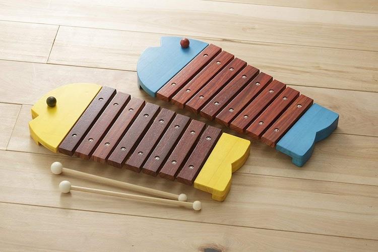 ・楽器系はリズム感や音感を楽しく養え、指先や手の発達にも
