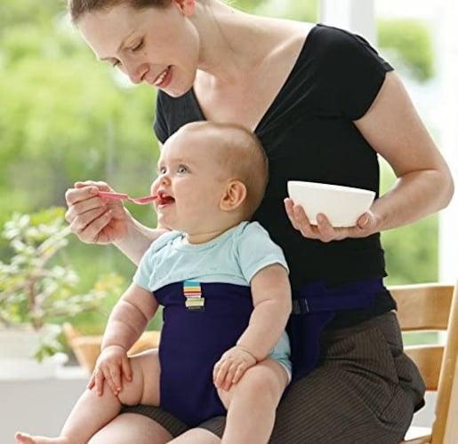 離乳食の椅子に座らないときはどうする?