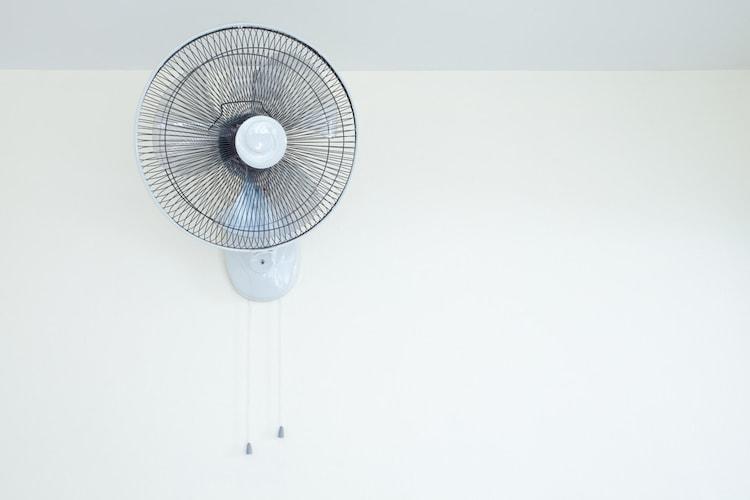 壁掛け扇風機のメリット
