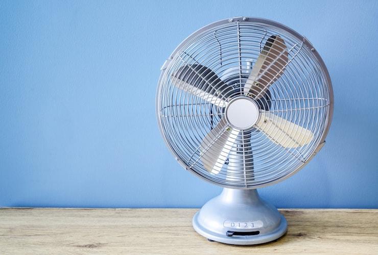 扇風機の特徴 風量調節と空気の攪拌が得意