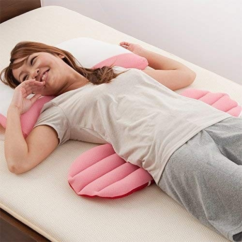 ・寝るときに腰元に敷いて使う
