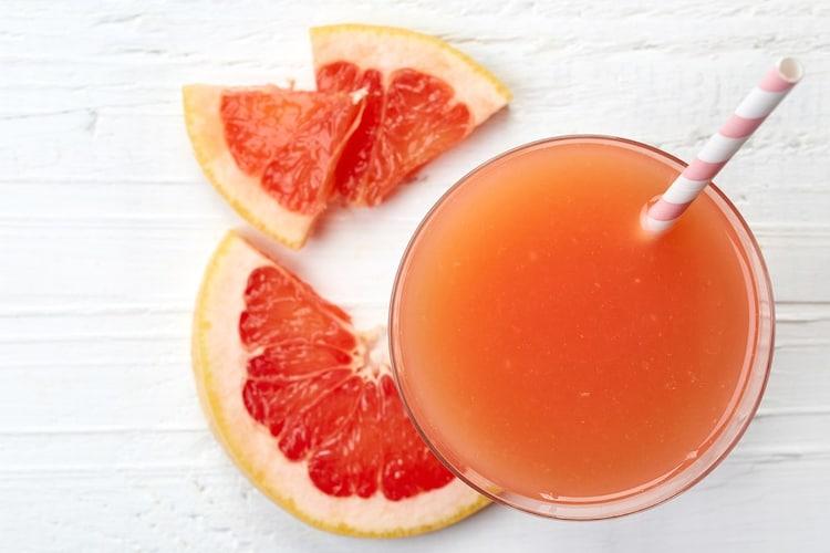 グレープフルーツジュースの主な成分