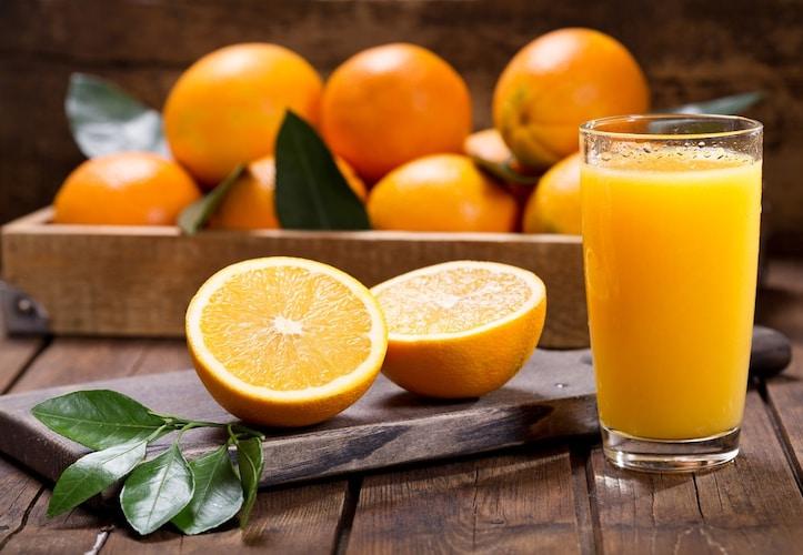 オレンジの豊富な栄養素を手軽に摂取!