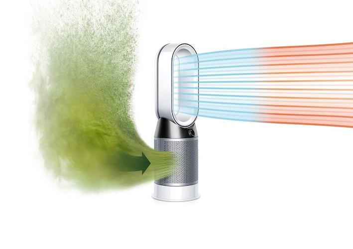 空気清浄機能|花粉やアレルギー物質を除去し、快適な空間に