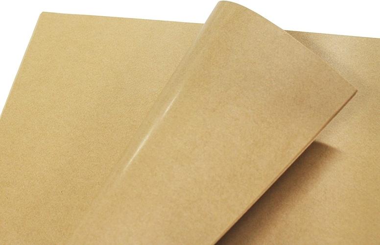 片艶晒クラフト紙|表面がツルツルで色の滲みが少ない