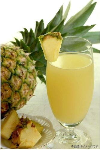 パイナップルはビタミンCや食物繊維などの栄養が豊富!