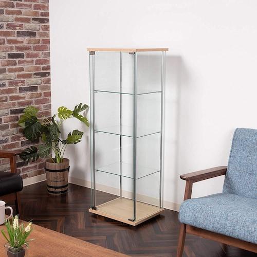 様々な大きさに対応できる棚型