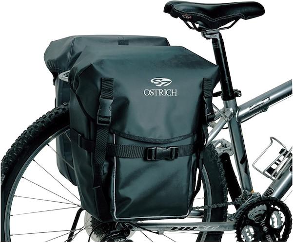 ▼サイド・リアバッグ|大容量の荷物に◎