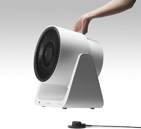 コードレス扇風機としても使える