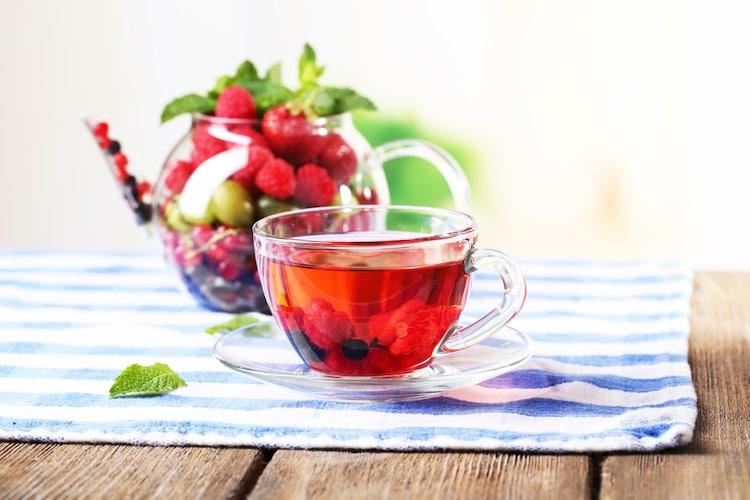 フルーツティーで豊富なビタミンや食物繊維を手軽に摂取