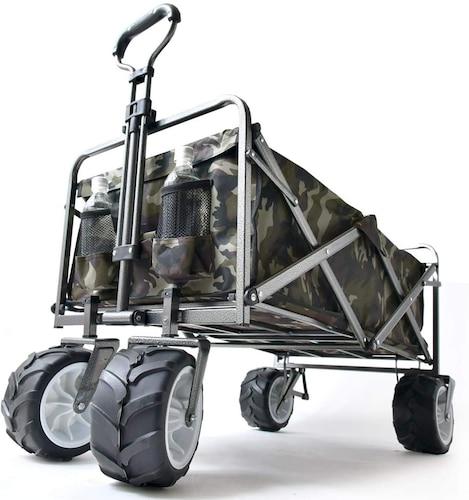 タイヤの大きさも重要!4輪タイプでさらに安定