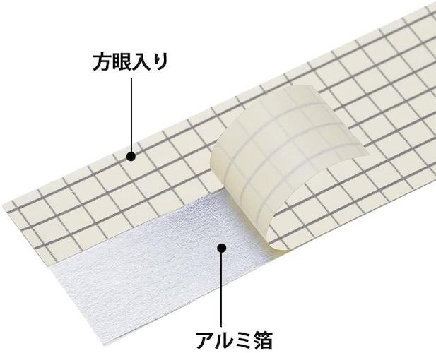 剥離紙|剥離紙に方眼罫・切れ目があるタイプは使いやすさ◎