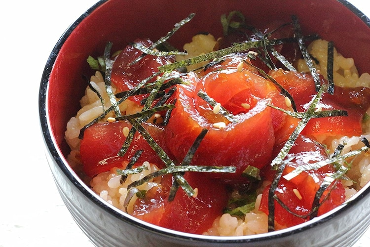 赤酢を使った酢飯の作り方