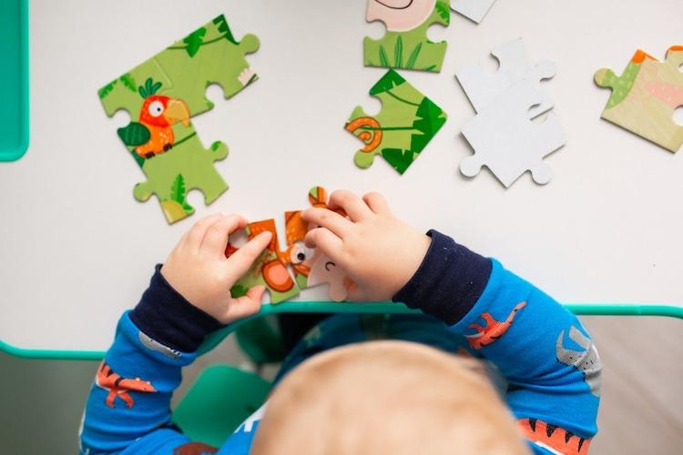 【子供用ジグソーパズル対象年齢の目安】