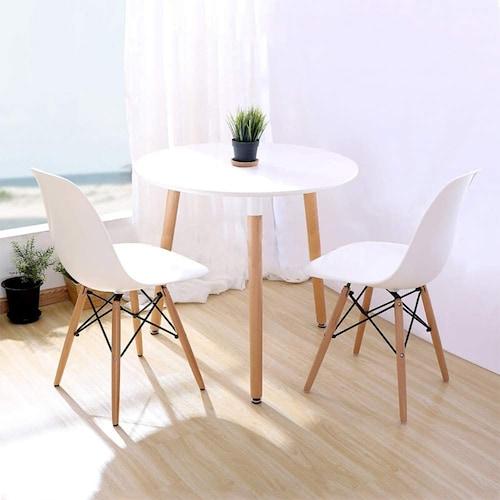 柔らかいイメージにしたいなら丸テーブルもおすすめ