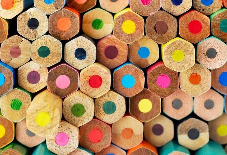 色鉛筆の種類