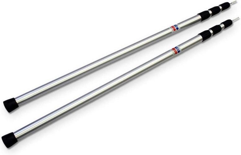 ▼スライド式:タープを張った状態でも変更可能