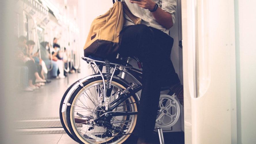■一般的な自転車より持ち運びしやすい