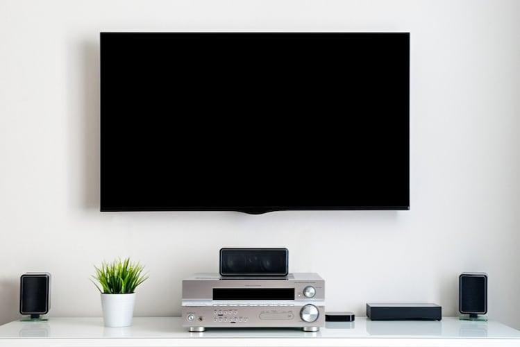 画面 「プロジェクター」と「テレビ」の違いを確認して選ぼう