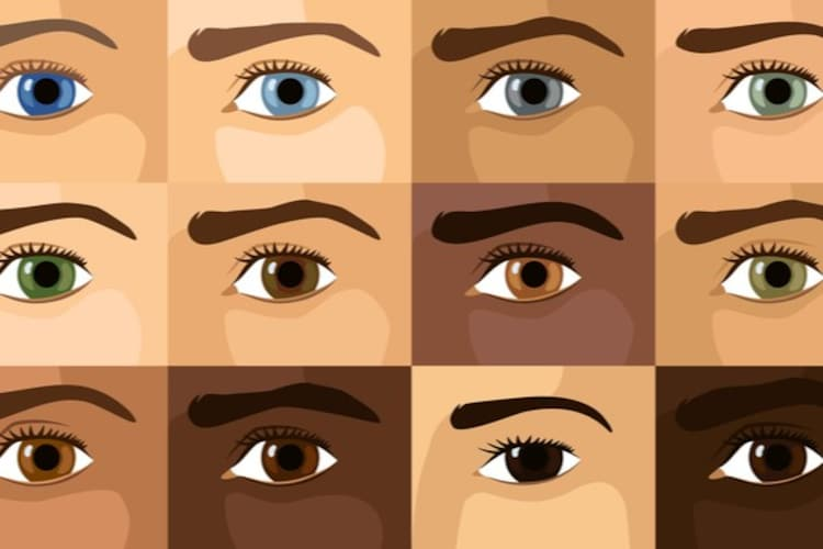 瞳の色|ブラック系はダーク・ブラウン系はライトブラウン