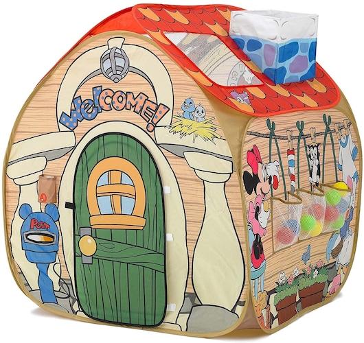 【テントタイプ】屋根付きでお子さんのパーソナルスペースにも◎