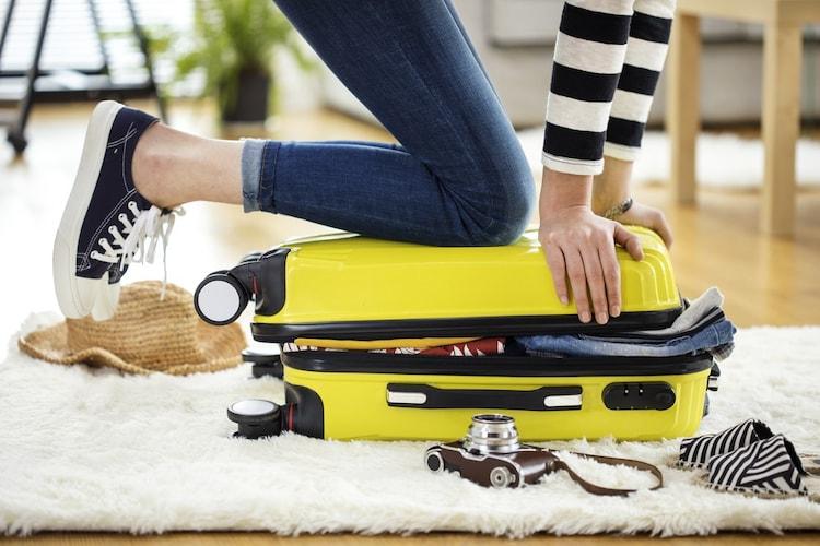 携帯性|カバンやスーツケースに入るサイズが◎