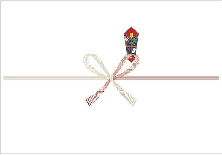 ▼蝶結び(花結び):出産や進学栄転などに使用する