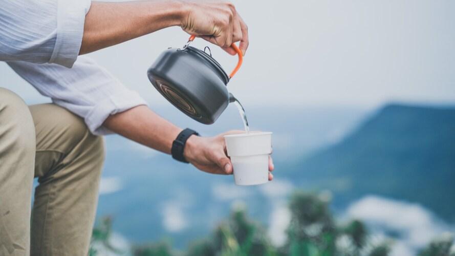 容量|1L以下でコーヒーを約4杯淹れられる