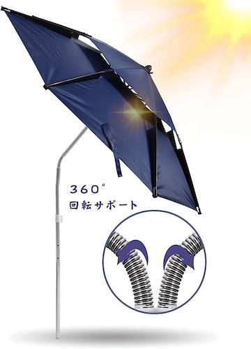 4.機能|角度調整・撥水加工・紫外線対策の有無